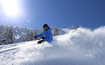 Freeride/Buckelpiste/Ski-Technik